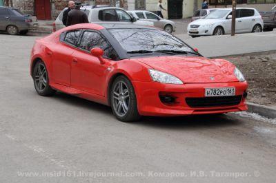 Фото Tagaz Aquila на улицах Таганрога